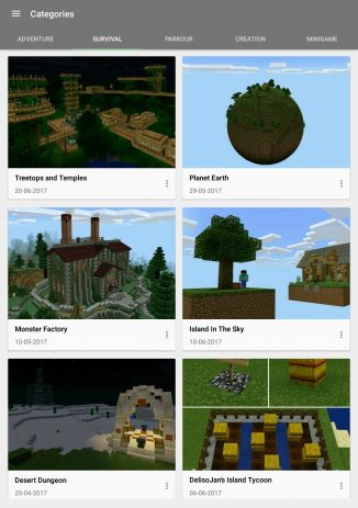 Скриншот Maps for Minecraft