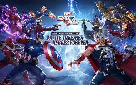 Скриншот MARVEL Super War