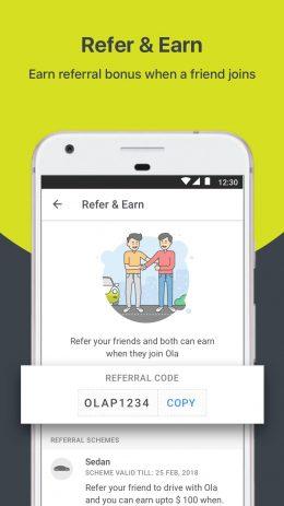 Скриншот Ola Partner 2