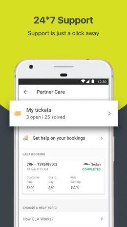 Скриншот Ola Partner 3