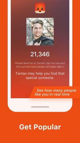 Скриншот Tantan