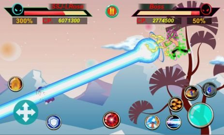 Скриншот God of Stickman 3
