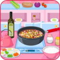 Cooking minestrone soup - icon