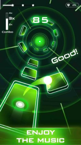 Скриншот Magic Twist: Twister Music Ball Game