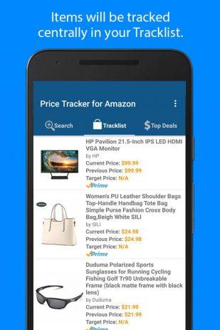Скриншот Price Tracker for Amazon
