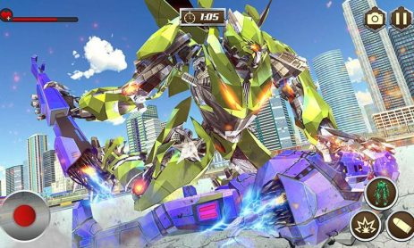 Скриншот Multi Transforming Army Horse Robot Games