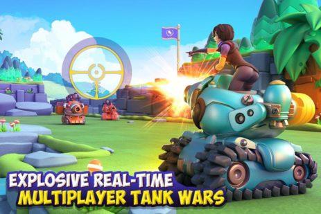 Скриншот Dank Tanks