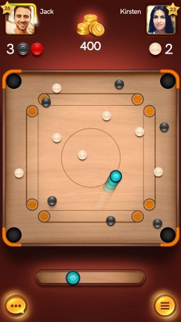Скриншот Disc Pool Carrom