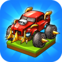 Merge Battle Car: Best Idle Clicker Tycoon game - icon