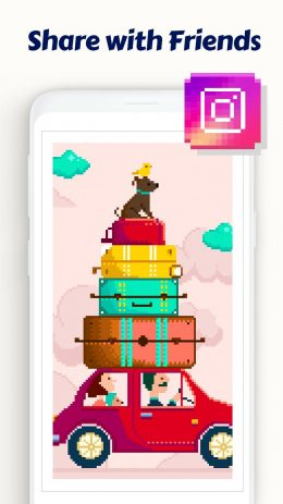 Скриншот Daily Pixel