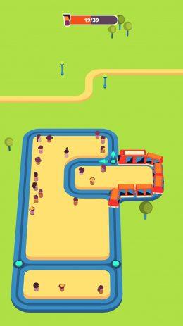 Скриншот Train Taxi