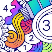 Cover art of «BATIQ: Coloring book | Раскраска антистресс» - icon