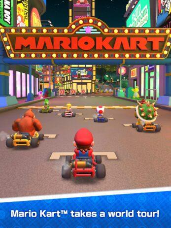 Скриншот Mario Kart Tour
