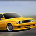 E30 Old Car Parking - icon