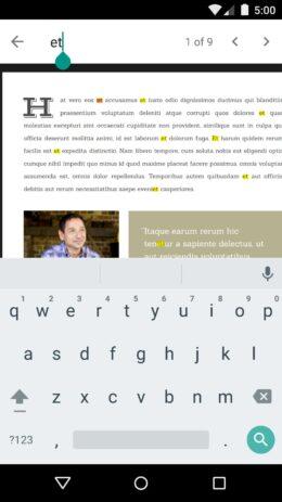 Скриншот Google PDF Viewer 2