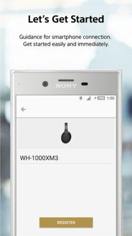 Скриншот Sony   Headphones Connect 2