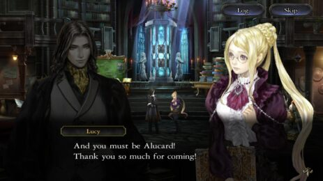 Скриншот Castlevania Grimoire of Souls