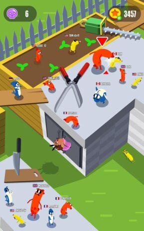 Скриншот Sausage Wars.io