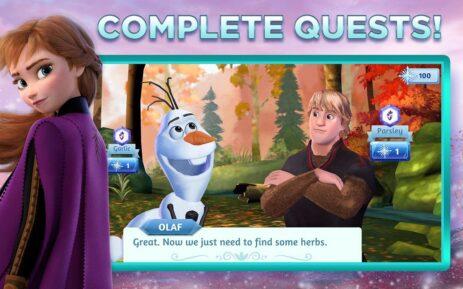 Скриншот Disney: Холодные приключения