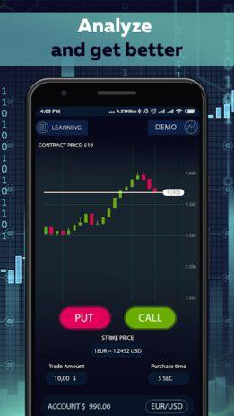 Скриншот Binary Options trading master 0