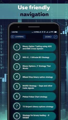Скриншот Binary Options trading master 1