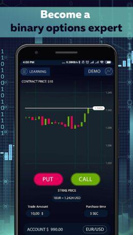 Скриншот Binary Options trading master 2