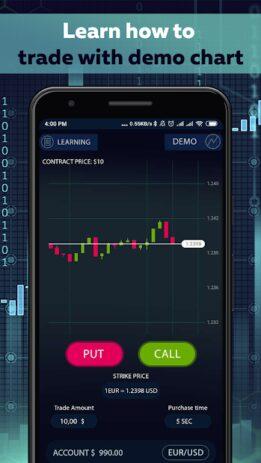 Скриншот Binary Options trading master 3