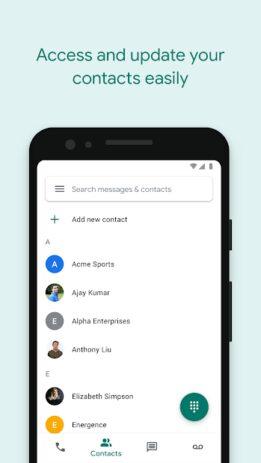 Скриншот Google Voice 4