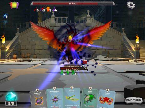 Скриншот Сказки подземелья: собрать колоду в ролевой игре