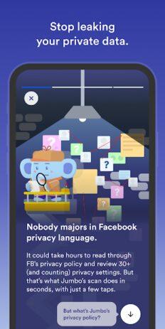 Скриншот Jumbo: Privacy + Security 5