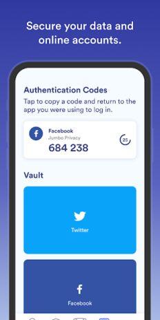 Скриншот Jumbo: Privacy + Security 7