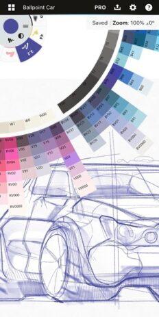 Скриншот Концепты: создавайте эскизы, проекты, иллюстрации 4