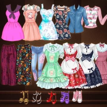 Cover art of «Кавайные старшеклассницы: Аниме одевалка и макияж» - icon