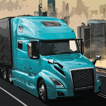 Cover art of «Virtual Truck Manager 2 Tycoon trucking company» - icon