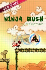 Скриншот Ninja Rush HD – стремительный ниндзя