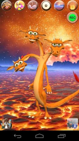 Скриншот Говоря 3 Headed дракона