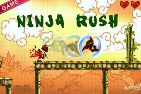 Ninja Rush HD – стремительный ниндзя | Android