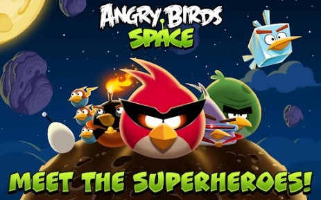 Poster Angry Birds Space