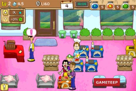 Скриншот Garfield's Diner