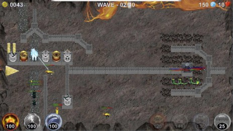 Скриншот Tower Defence: Heroic Defence