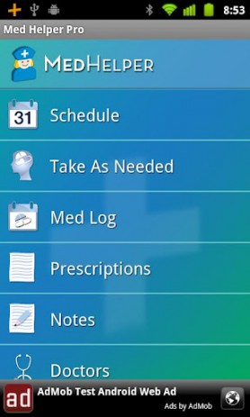 Med Helper-Prescription App | Android
