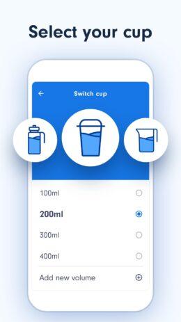 Скриншот Напоминания о питье воды 1