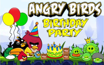 Poster Angry Birds: Birthday Party