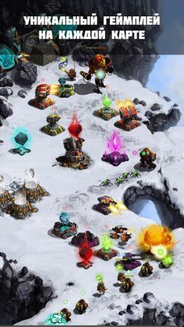 Скриншот Ancient Planet Tower Defense Offline 1