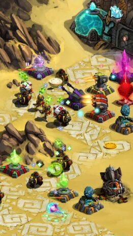 Скриншот Ancient Planet Tower Defense Offline 4