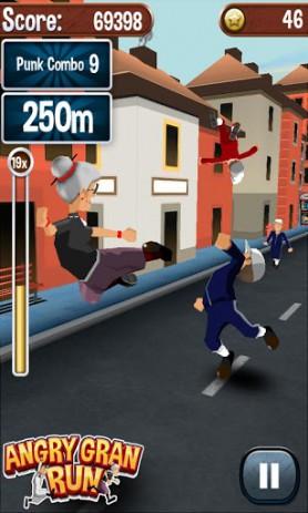 Скриншот Angry Gran Run – Running Game