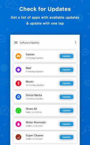 Скриншот Update Software Latest