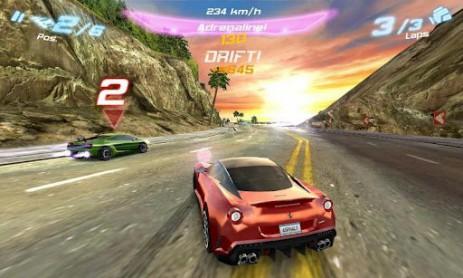 Скриншот Asphalt 6: Adrenaline HD