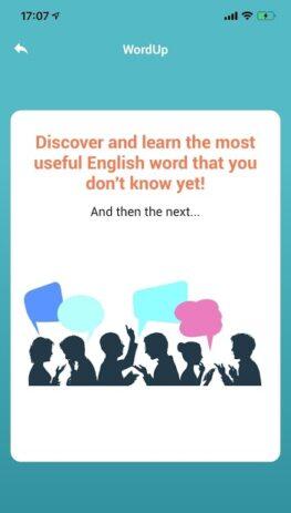 Скриншот Словарь WordUp 4