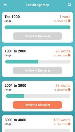 Скриншот Словарь WordUp 6